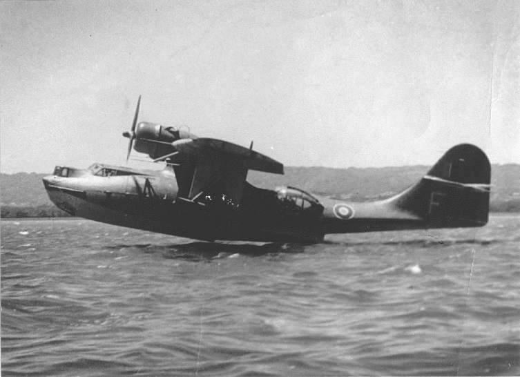 A Catalina Flying Boat of the RAF