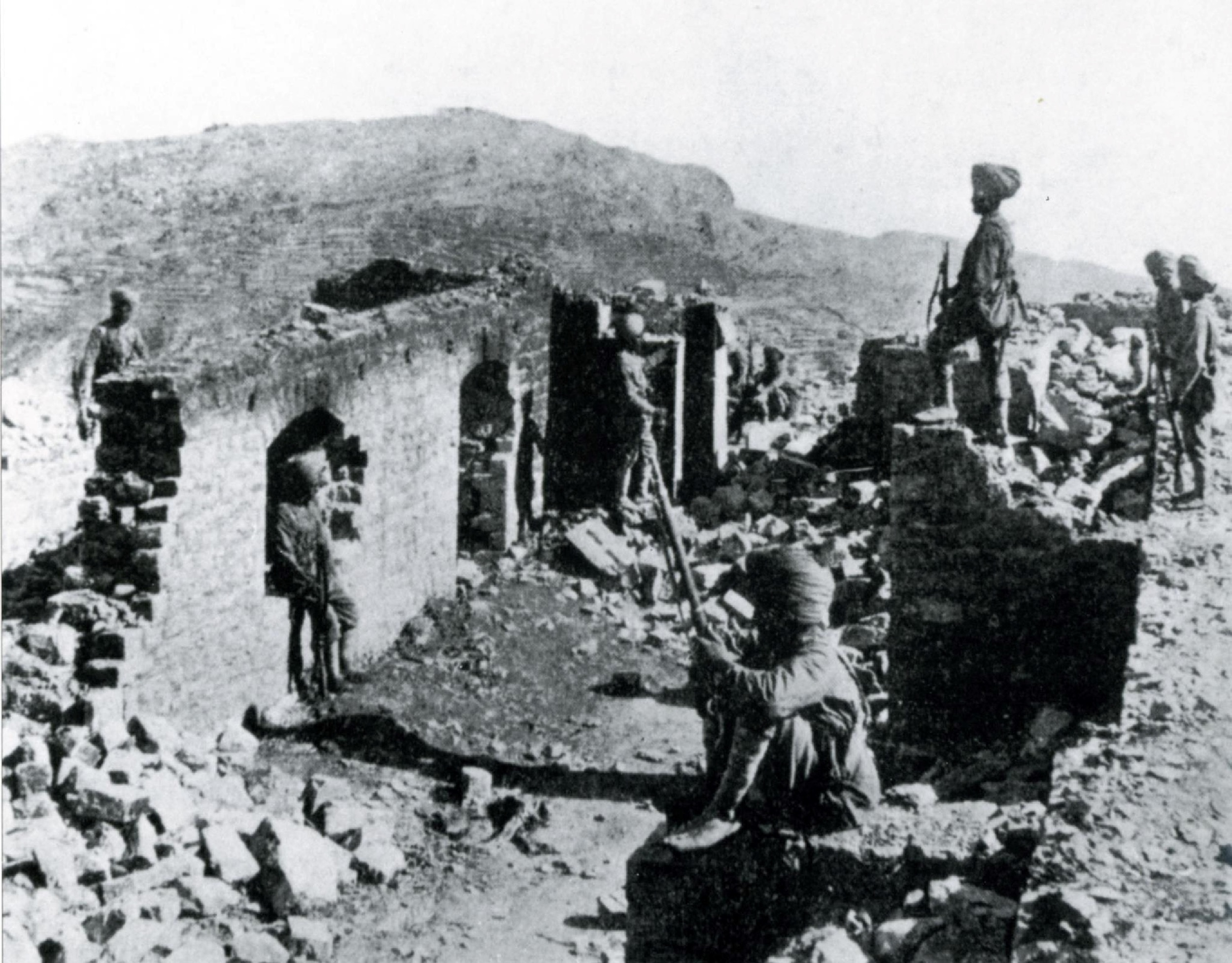 Without the stiff resistance of the 21 Sikh soldiers at Saragarhi both Fort Lockhart and Fort Gulistan would have easily fallen to the enemy. By defending their position long enough for the relief column to arrive with artillery support, the 21 Sikh soldiers became the crucial factor in turning the tide of battle in their  favour. When the relief column arrived a day later, they saw the burnt out bodies of all the 21 Sikh soldiers, together with at least 800 dead bodies of the tribesmen strewn only yards in front of their position.