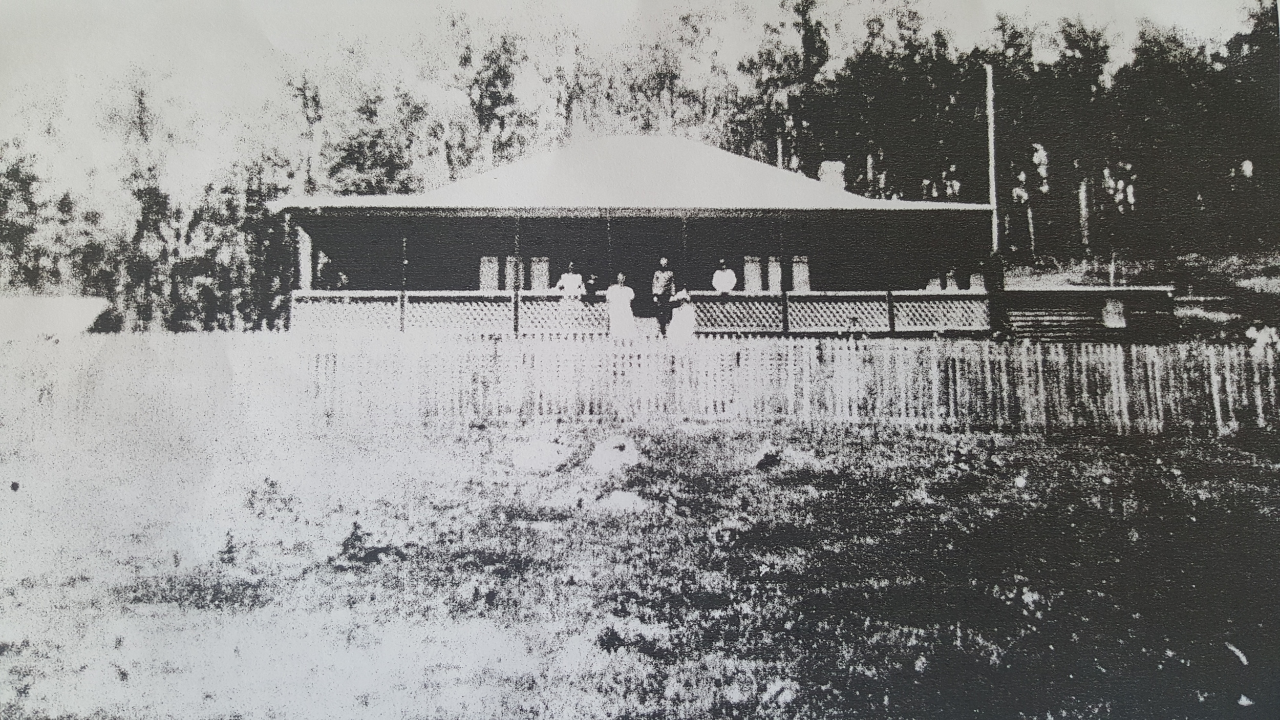 Mrs Happ's house on the farm that Ottam Singh used to frequent.