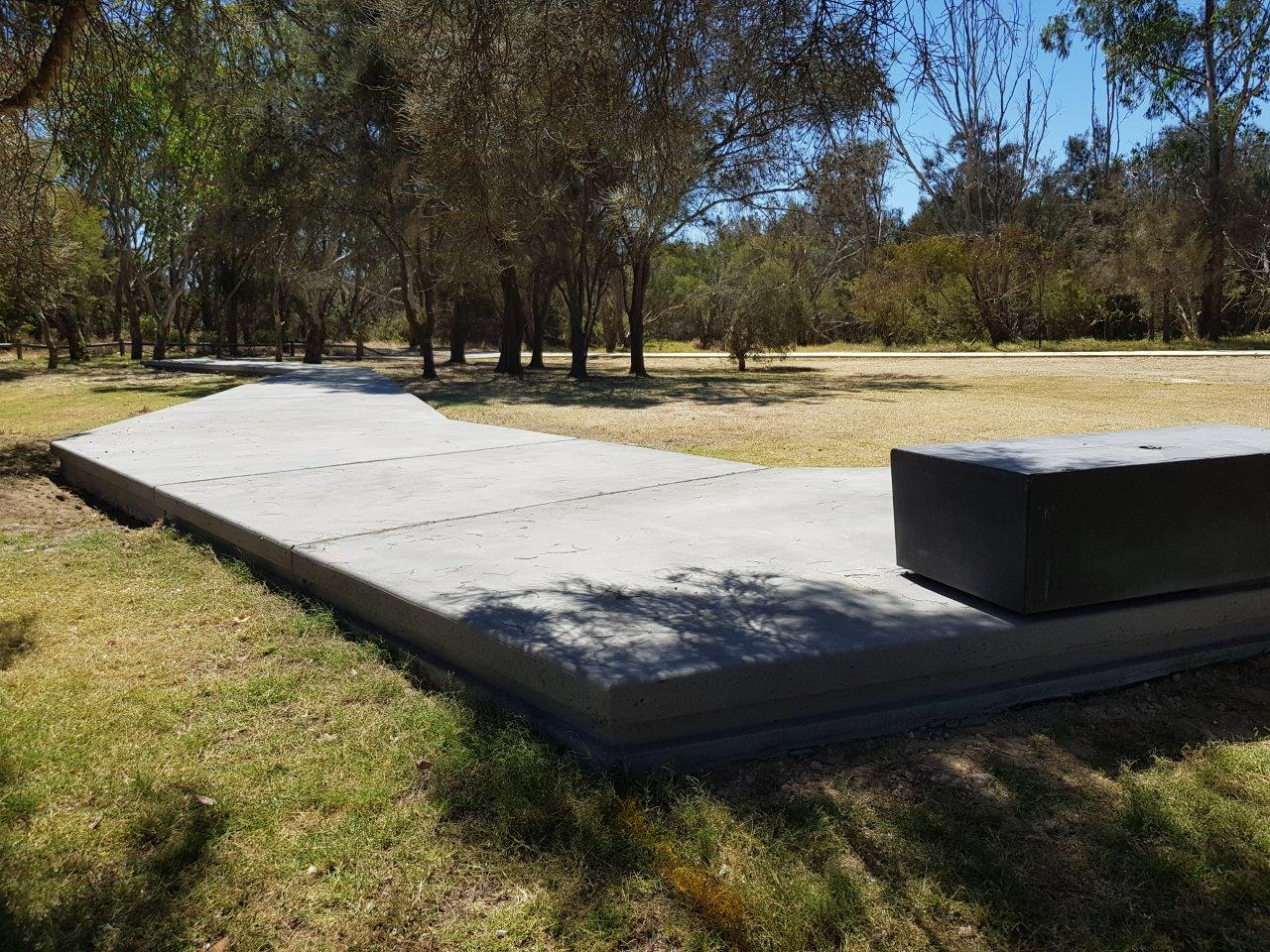 Node 4 (Theme: Sikh Spirit) - Bench to be completed and the largest interpretative panels telling the great Australian Sikh story to be added including a timeline over the coming month or so.