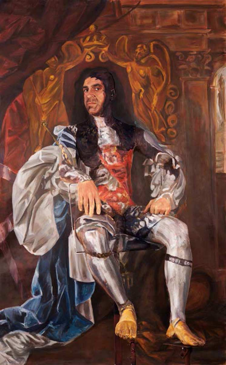 Charles II    - 2011 Inkjet on Hahnemuhle Fineart Paper Edition1: 4+2.A.P., Size:   200x135cm Edition2: 6+2A.P., Size: 120x75cm