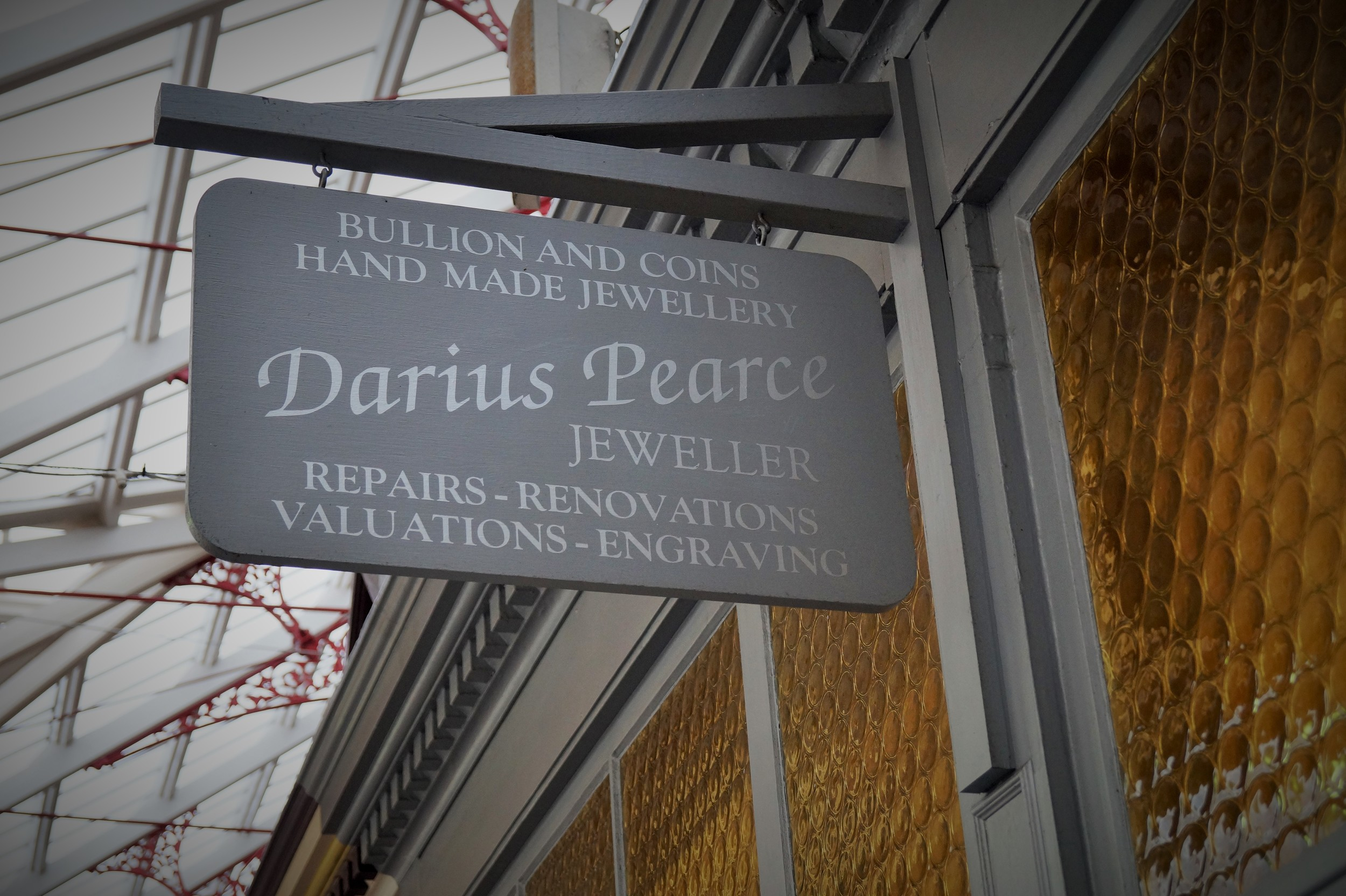 Darius Peace, Jeweller