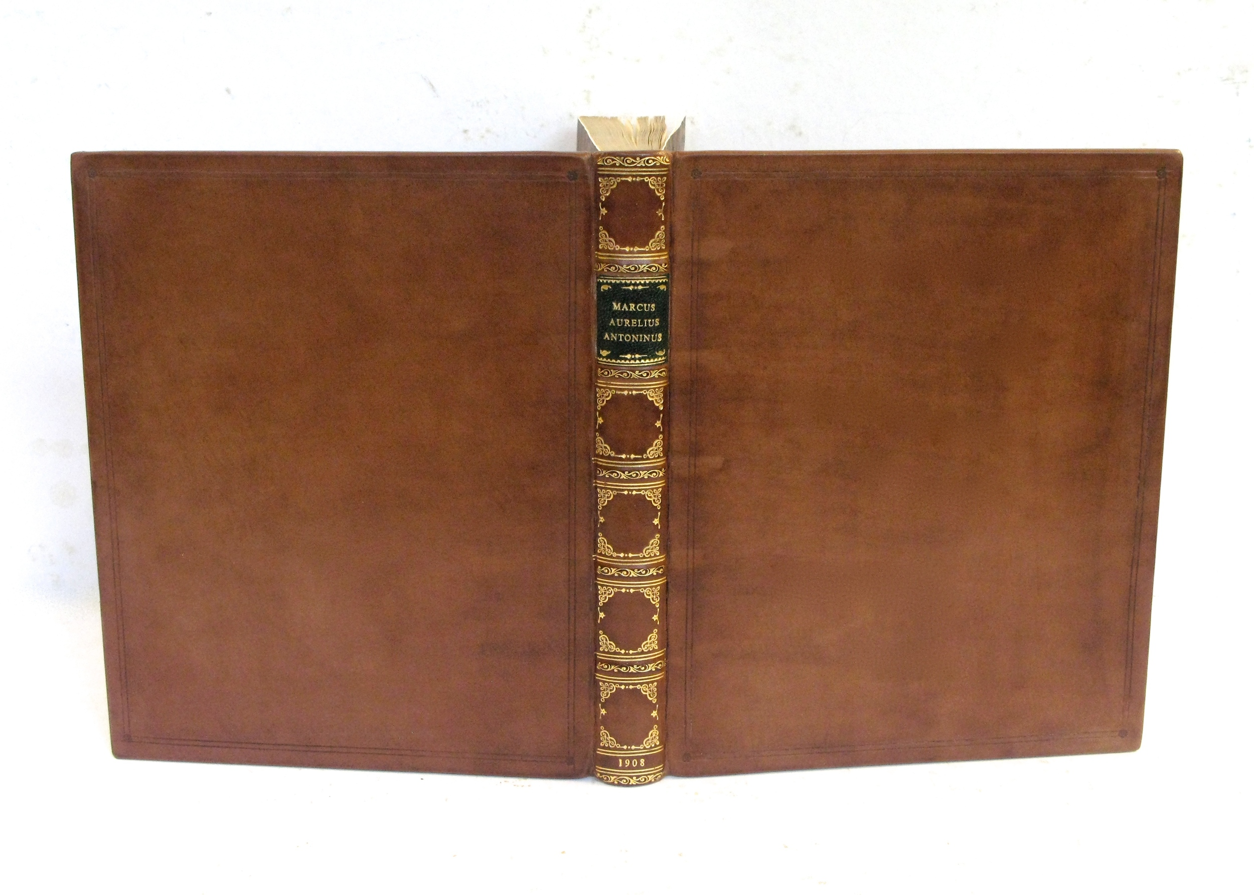 Copy of New Binding in Antique Style: polished calf