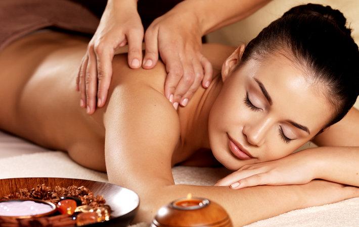 spa massage body scrub relaxing detox stress skin brush