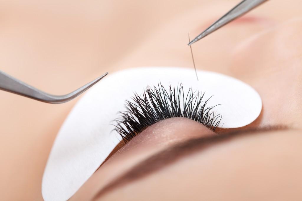 eyes individual eyelash extensions lash lift perm tint