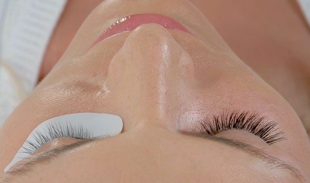 eyelash extensions tint shape colour lift natural