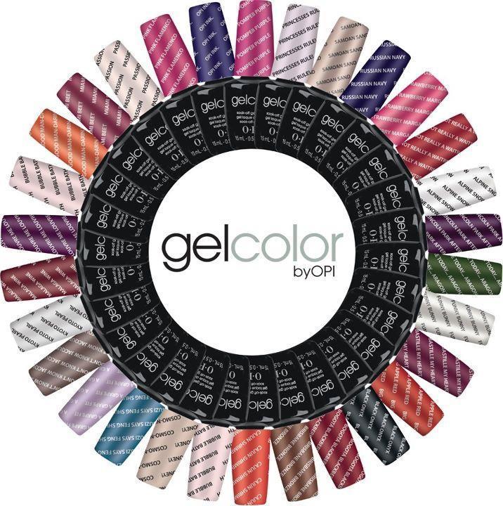 opi gel Polish colour