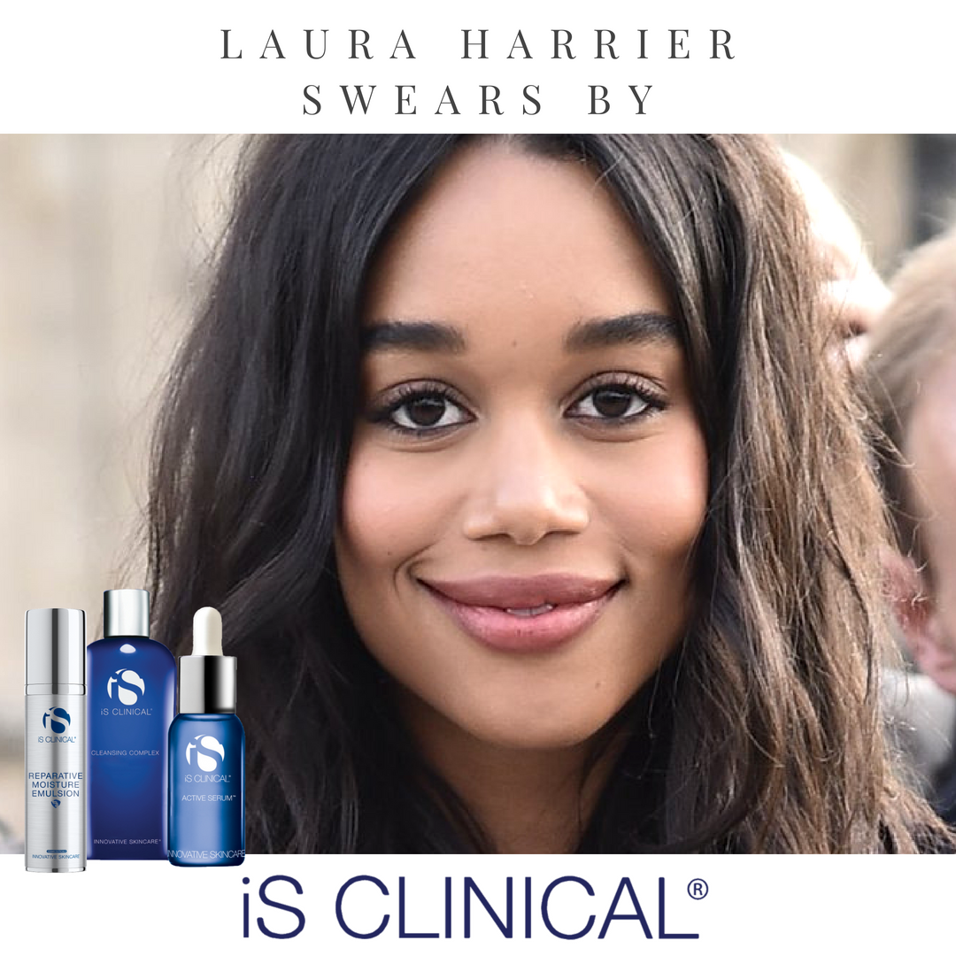 Laura Harrier swears by - E online.png