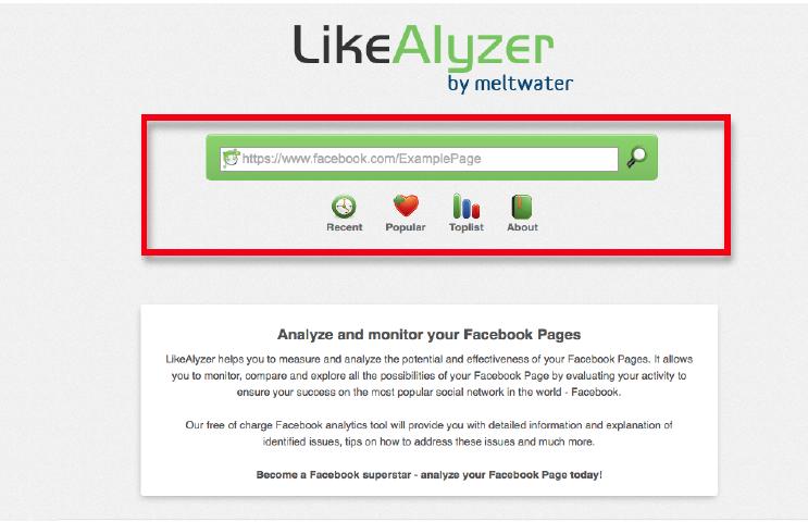 Facebook likealyzer