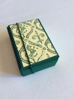 Libro de firmas con caja