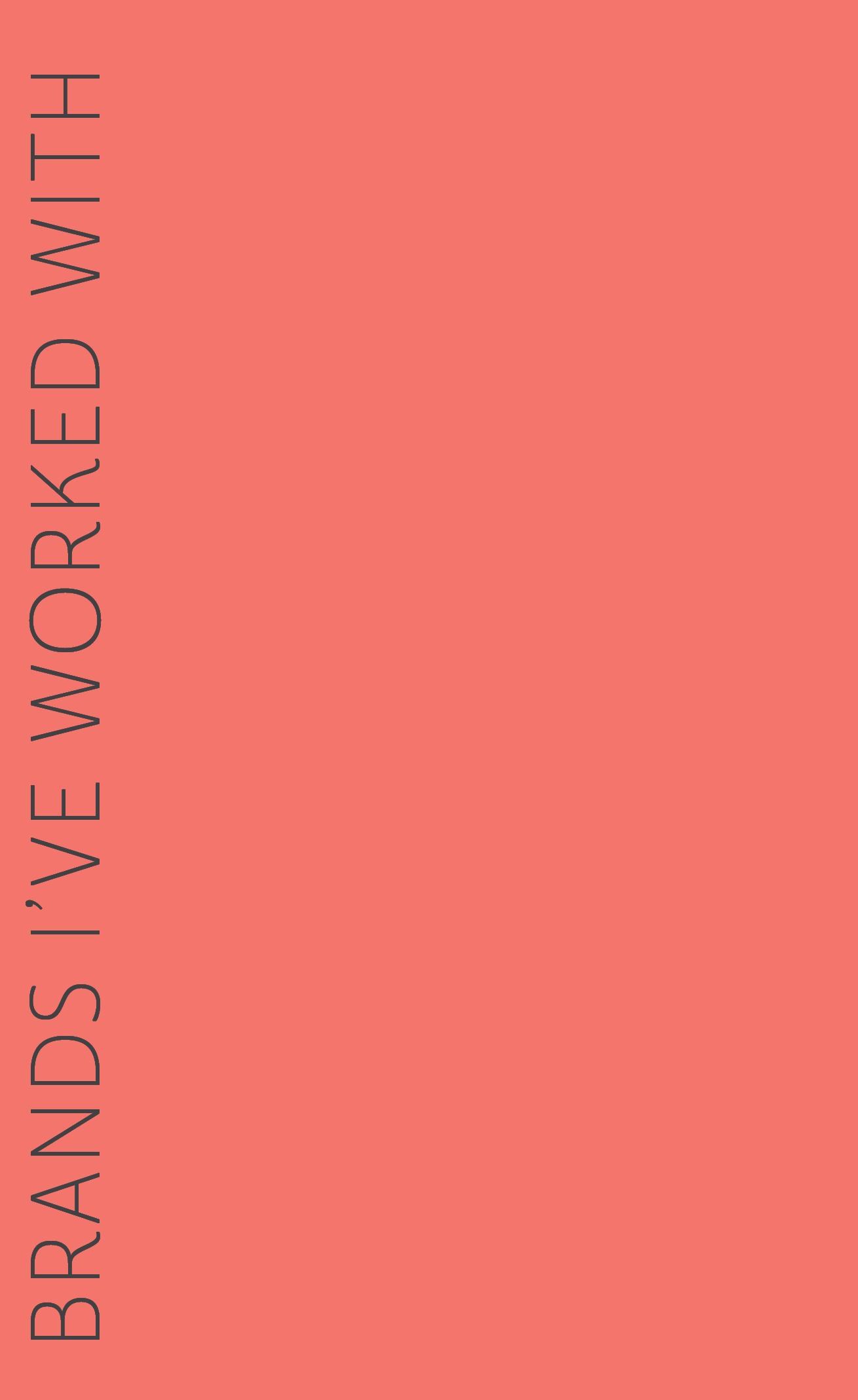 Click for examples: - Baby DoveOreidaHeftySmile BrilliantRe-Play RecycledEvivo ProbioticsCarpet and Rug InstituteSmithfieldRhonna DesignsHappy Baby FamilyNanobebeErgobabyAmazonGrove CollaborativeBeauty CounterFebrezeDockatotLillibabyOllie WorldLorena Canal RugsJord