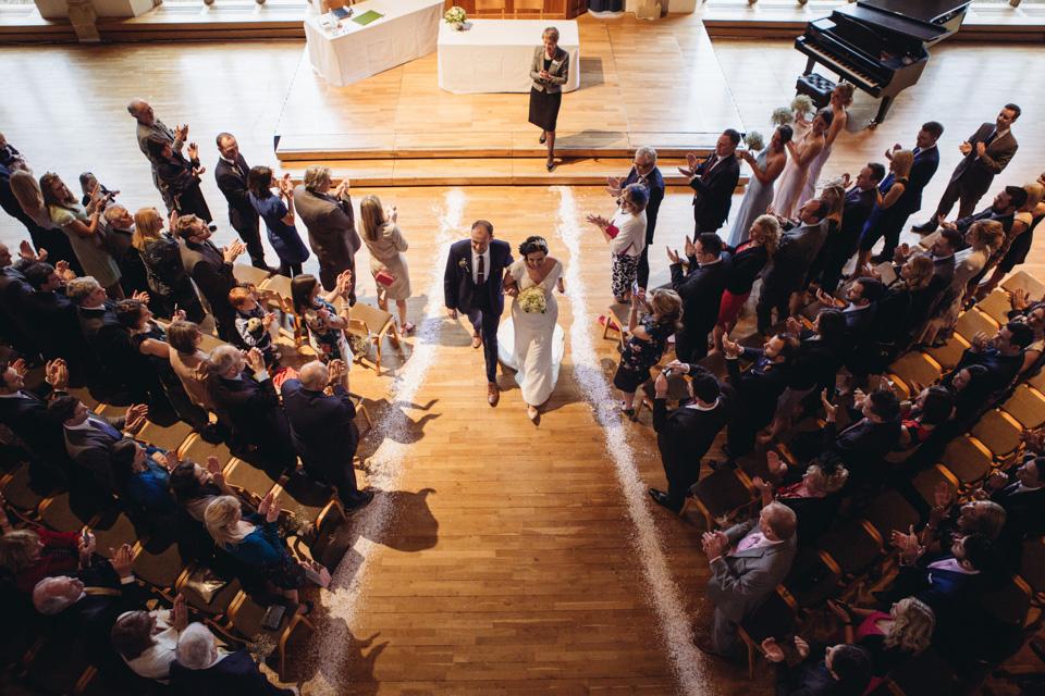 Gill & Elliott: Bedford School and Stagsden Village Hall Wedding - www.catlaneweddings.com