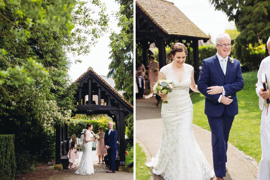 Tabitha & Paul - Wigginton Church & Hastoe Village Hall Wedding - www.catlaneweddings.com