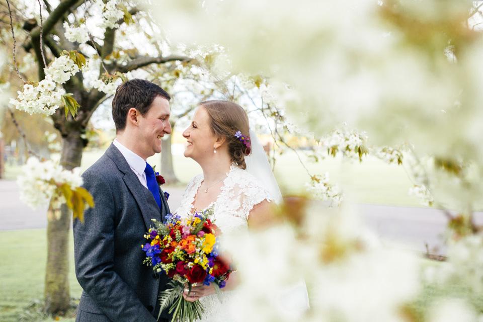 Clare & Khaled - Multicoloured Vibrant Bedford School Wedding - www.catlaneweddings.com