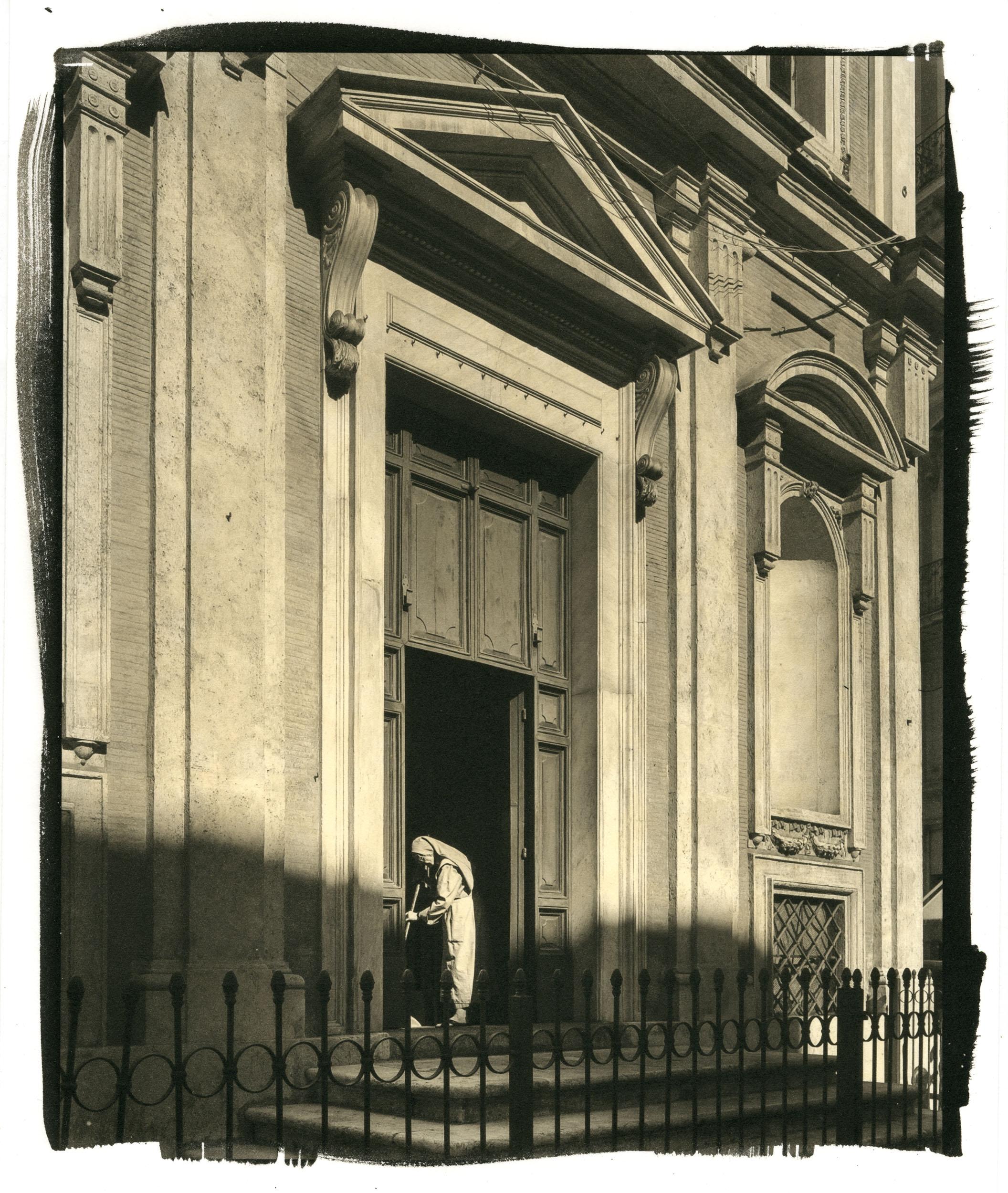 "Nun, Rome  (Platinum/Palladium Print, 8 x 10"")"