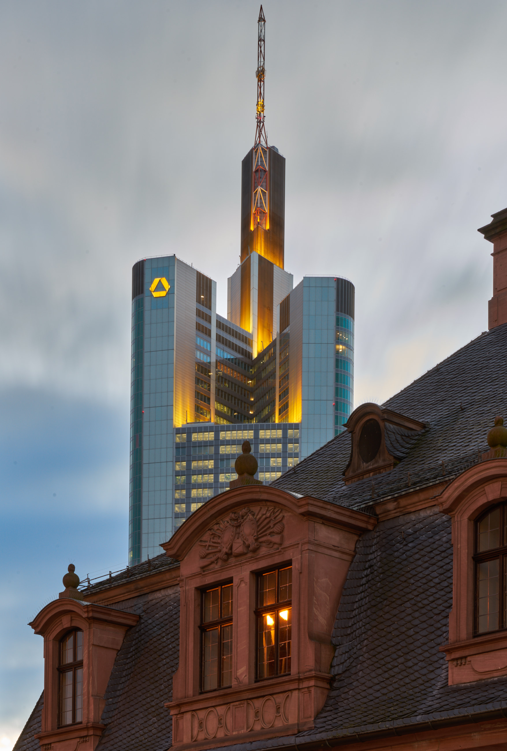 Comerzbank, Frankfurt
