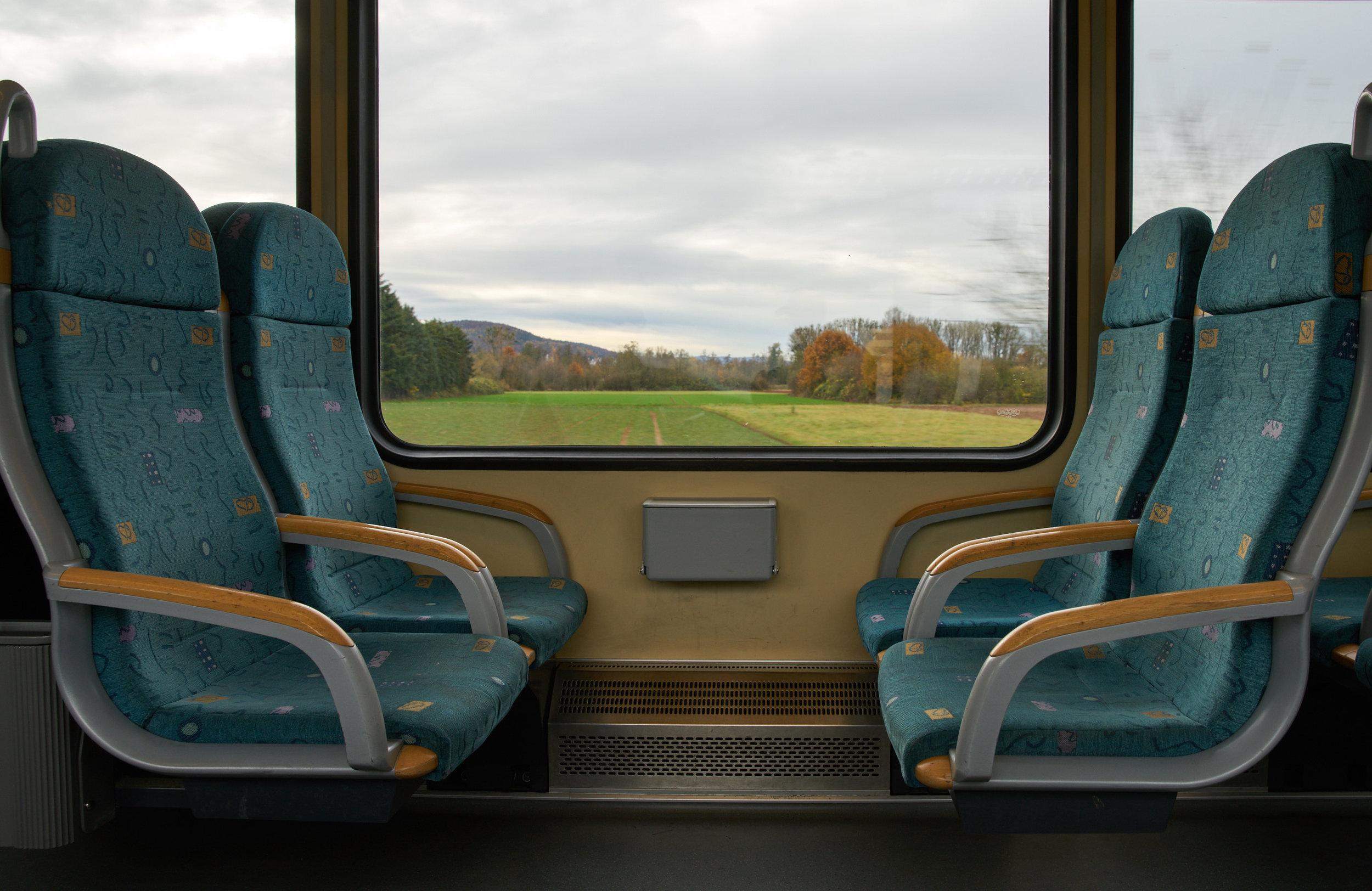 Train to Büdingen