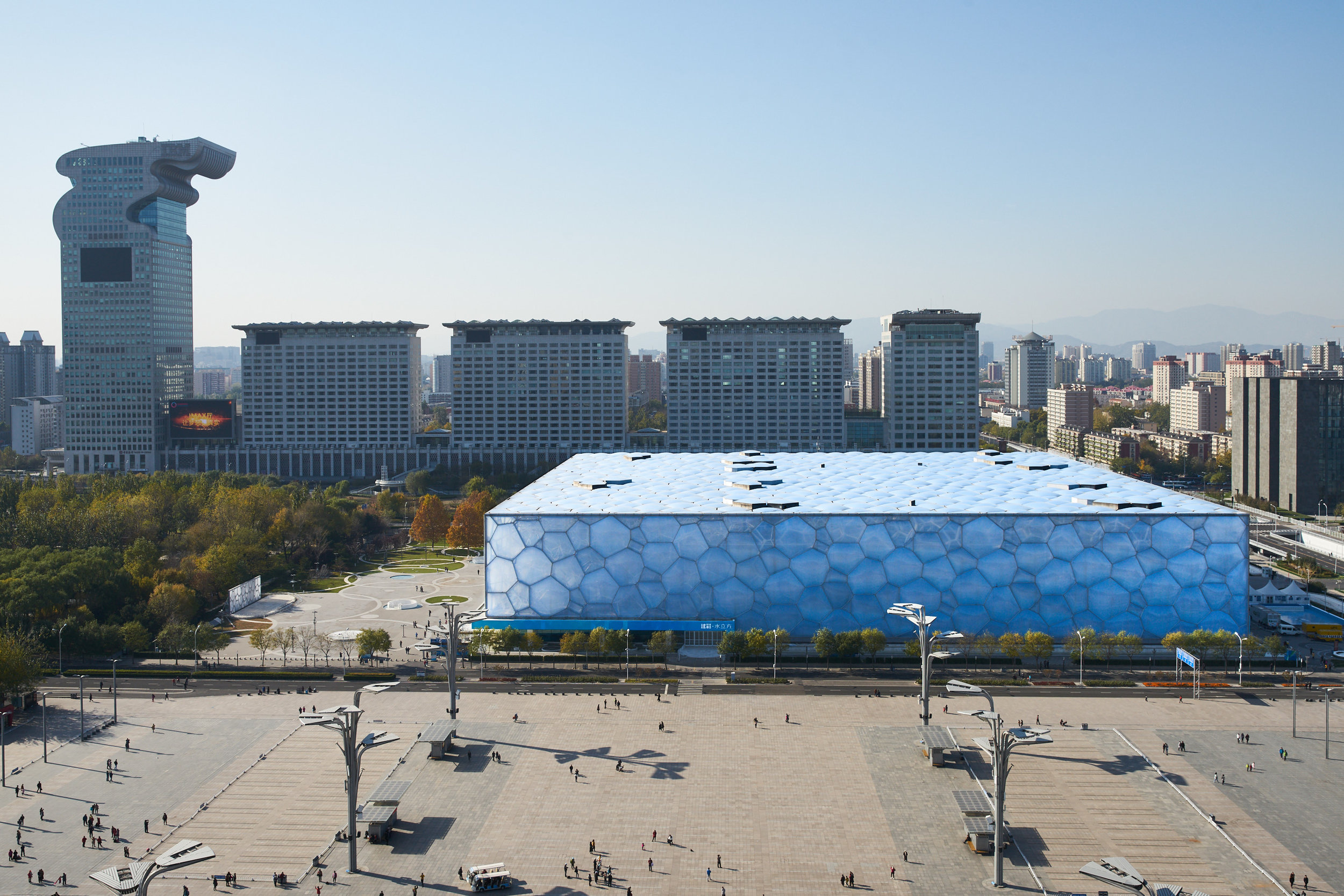 "National Aquatics Center ""Water Cube"", Beijing"