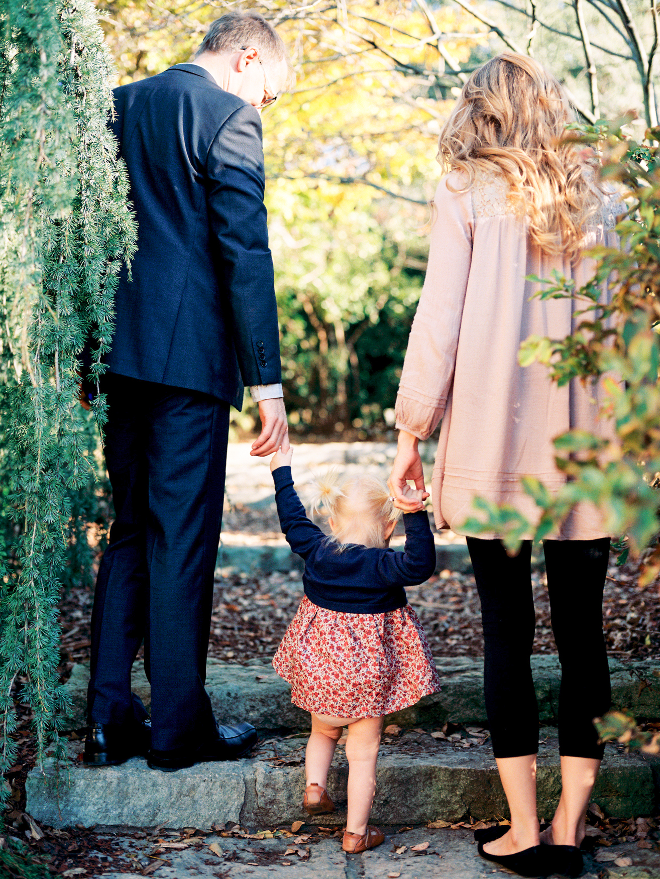 Natural Family Portrait Session at the Dallas Arboretum | Danielle M. Sabol, Dallas Texas Fine Art Wedding Photographer