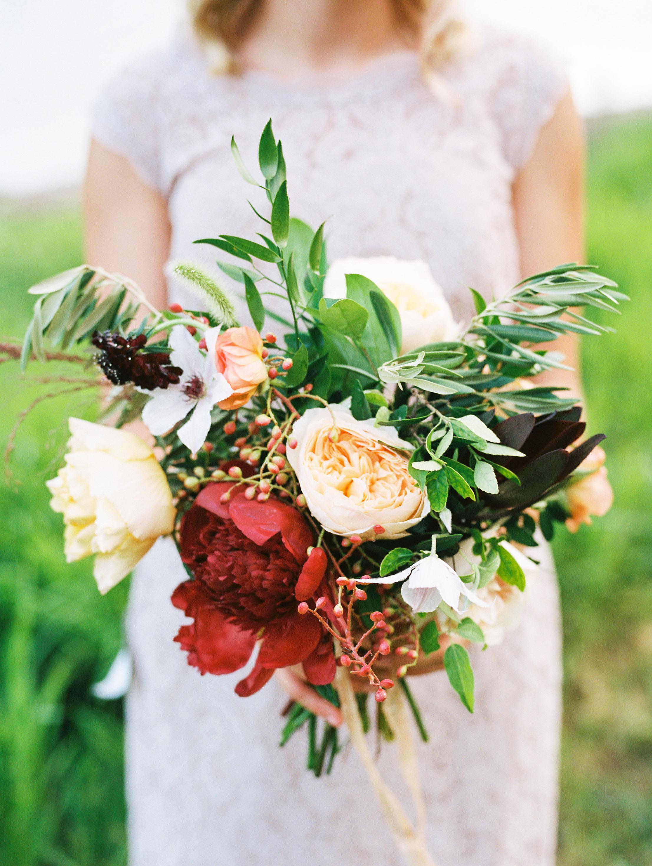 Floral Friday | Wild Bouquet by Holly Viles Design via daniellemsabol.com