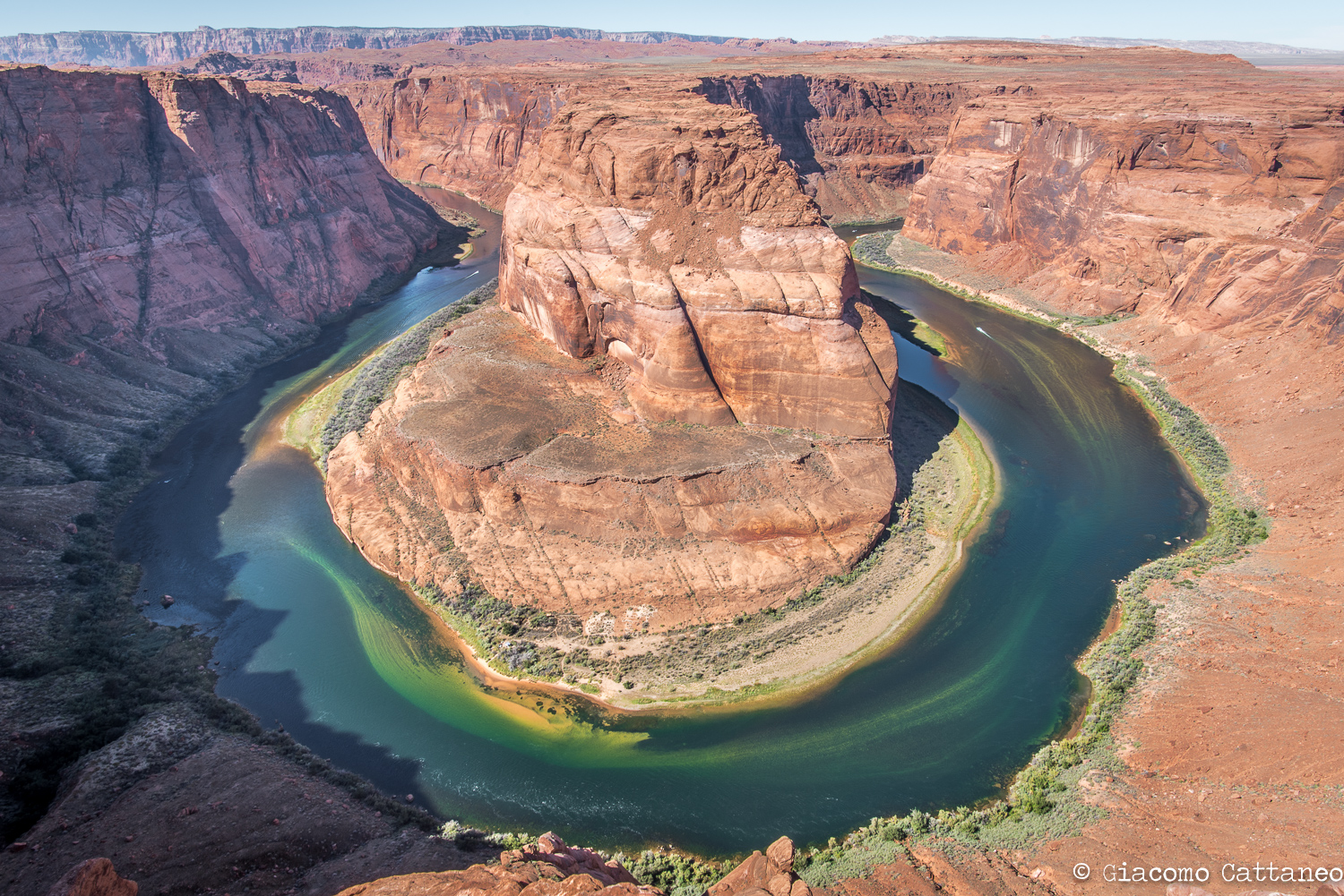 Horseshoe Bend, Colorado River - ISO 50, 2mm, f/16, 1/40 sec