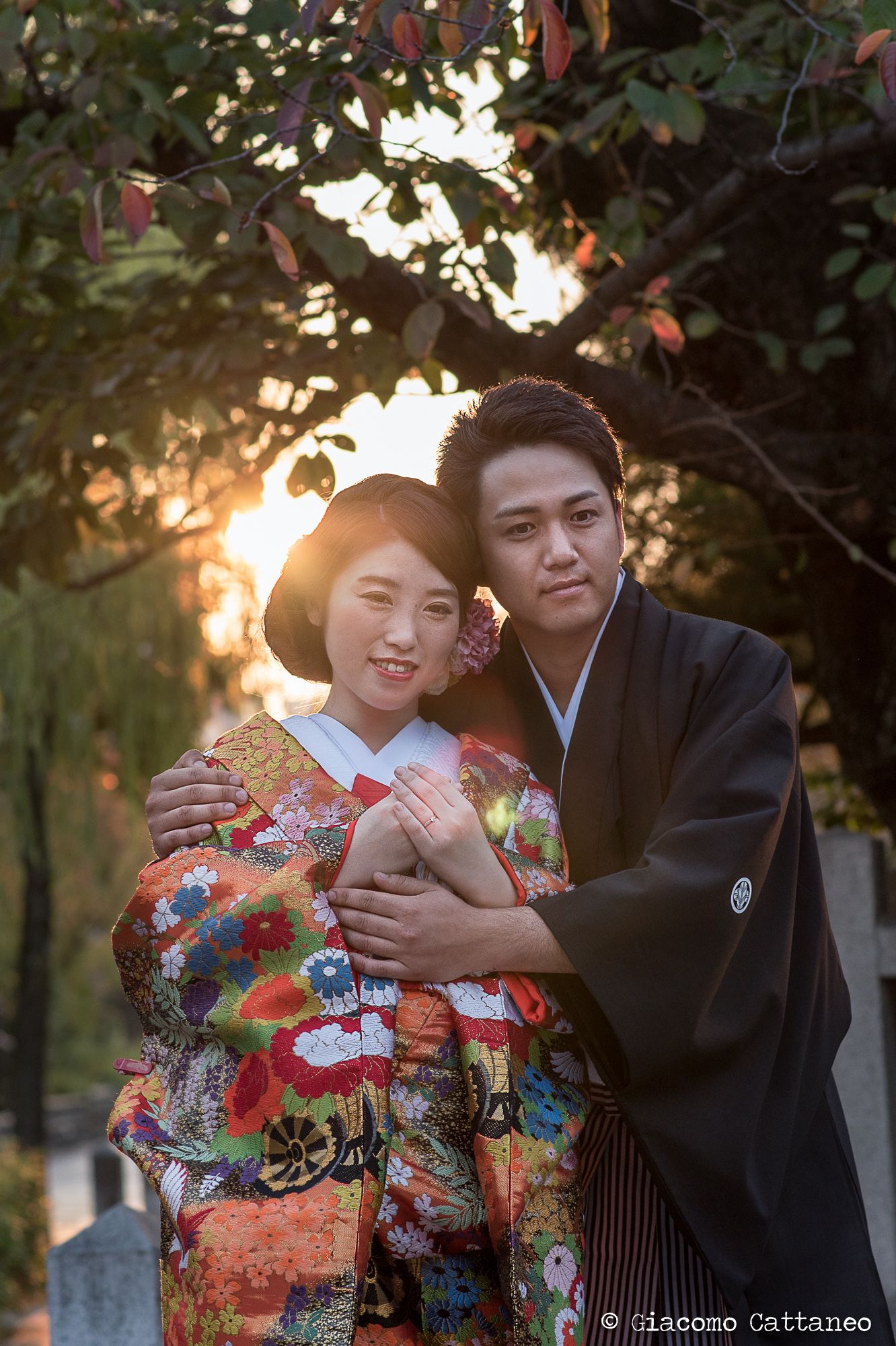 ISO 400, 85mm, f/4.0, 1/640 sec - Kyoto, wedding pictures frenzy!