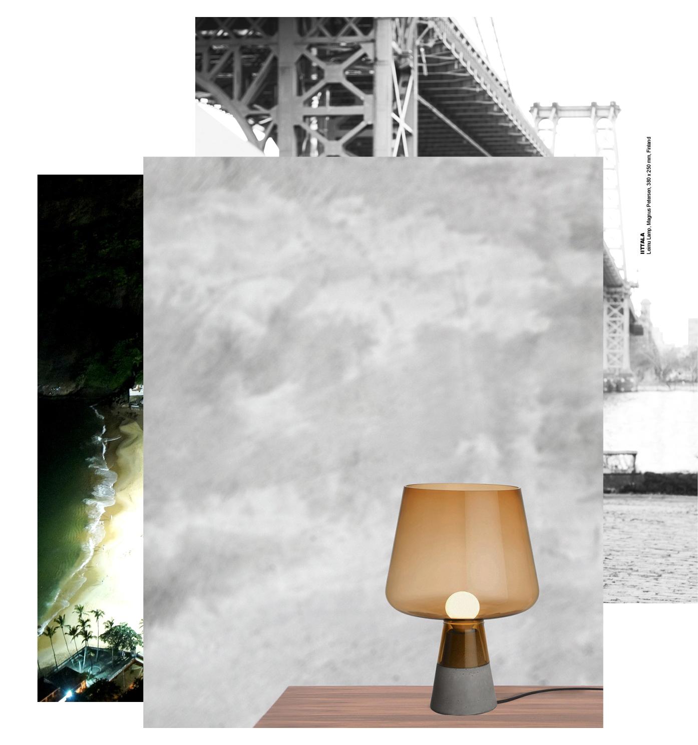 IITTALA  Leimu Lamp, Magnus Petersen, 380 x 250 mm, Finland