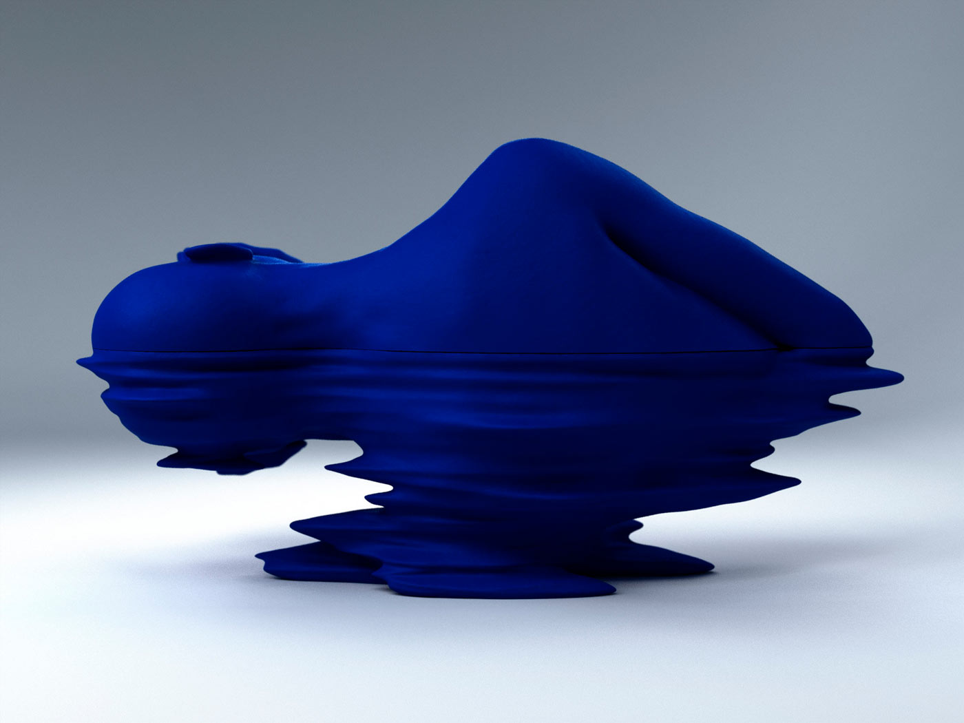 TIAN YONGHUA    Wave 3  Cast copper and acrylic. 50 x 45 x 55 cm Edition of 8 (TYO031)
