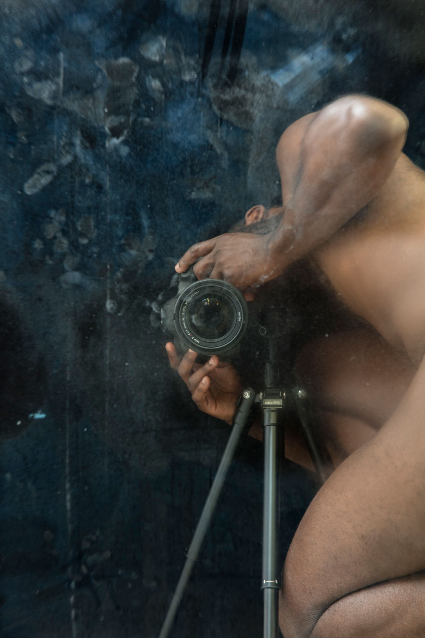 Darkroom Mirror Study 2017  ©Paul Mpagi Sepuya