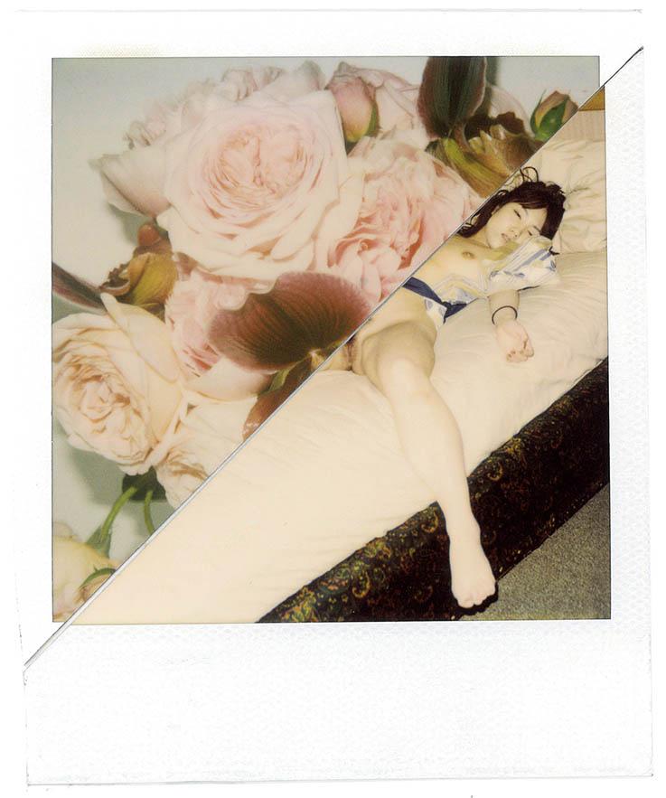 Kinbaku, 2010, Polaroid  © Nobuyoshi Araki Courtesy artspace AM, Tokyo