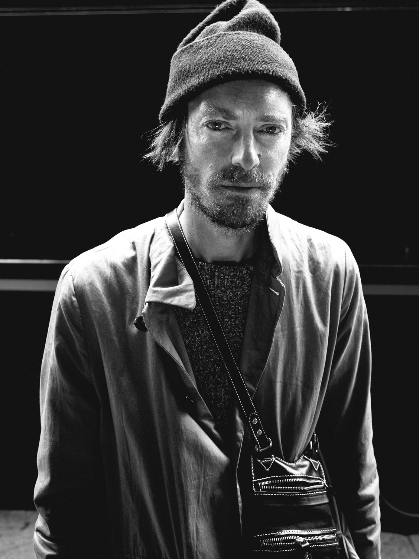 Henrik Vibskov.  (c) Christian Larsen