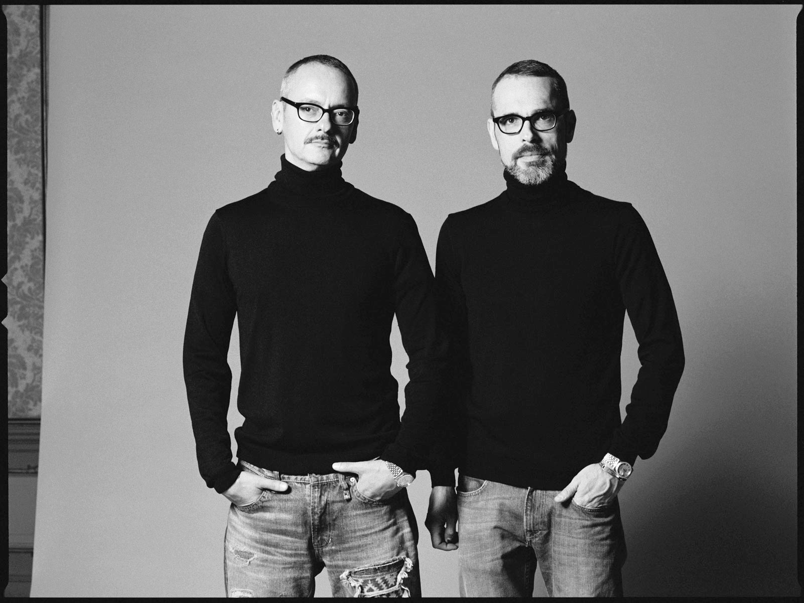 Viktor and Rolf seen by Frits Schroeder