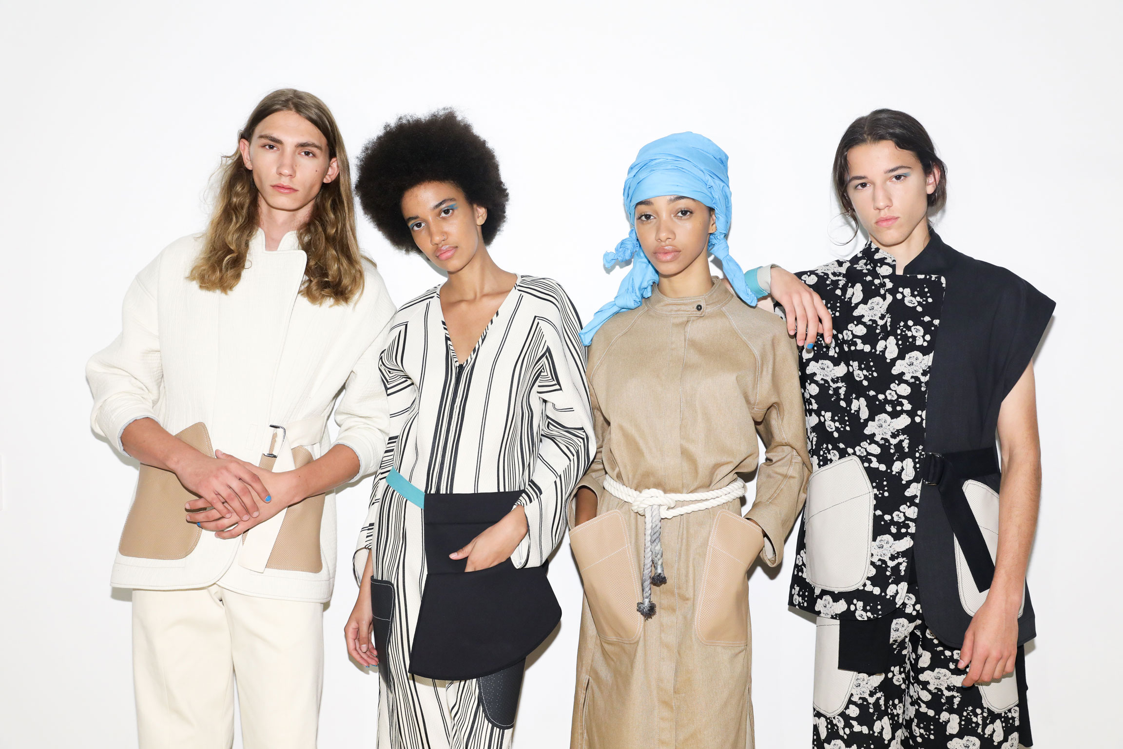 New York Fashion Week, 2019   Spring/Summer 2020 Re:Style Collection, Model Group Shots