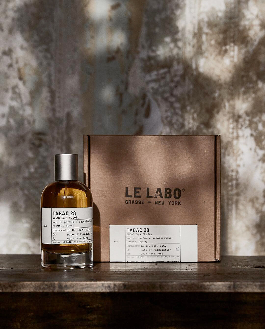 """TABAC 28, Miami   City Exclusive   Le Labo_   """"Deeply aromatic tobacco absolute (picture a Cuban Havana distilled) combined with opulent oud and a striking cedarwood blend creating a smooth,smoldering, feel. Guaiac wood and rum give the fragrance an intoxicating warmth rounded with green cardamom. The whole thing is alive, vibrant, sensual, opulent, decadent even! And it brings to Wynwood another colorful graffiti, but this one for your nostrils only."""""""