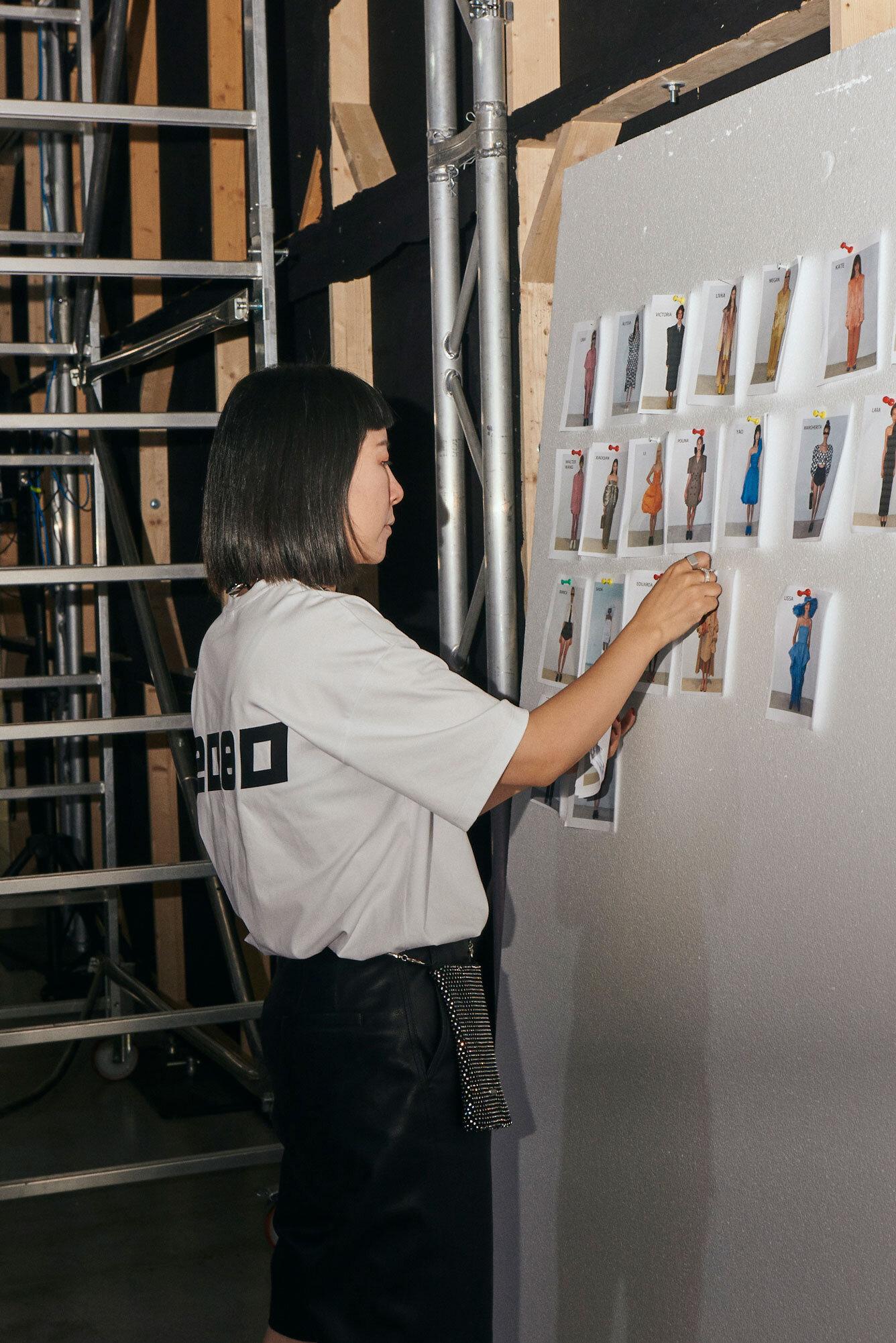 >>Creative Director Anna Yang<< - backstage