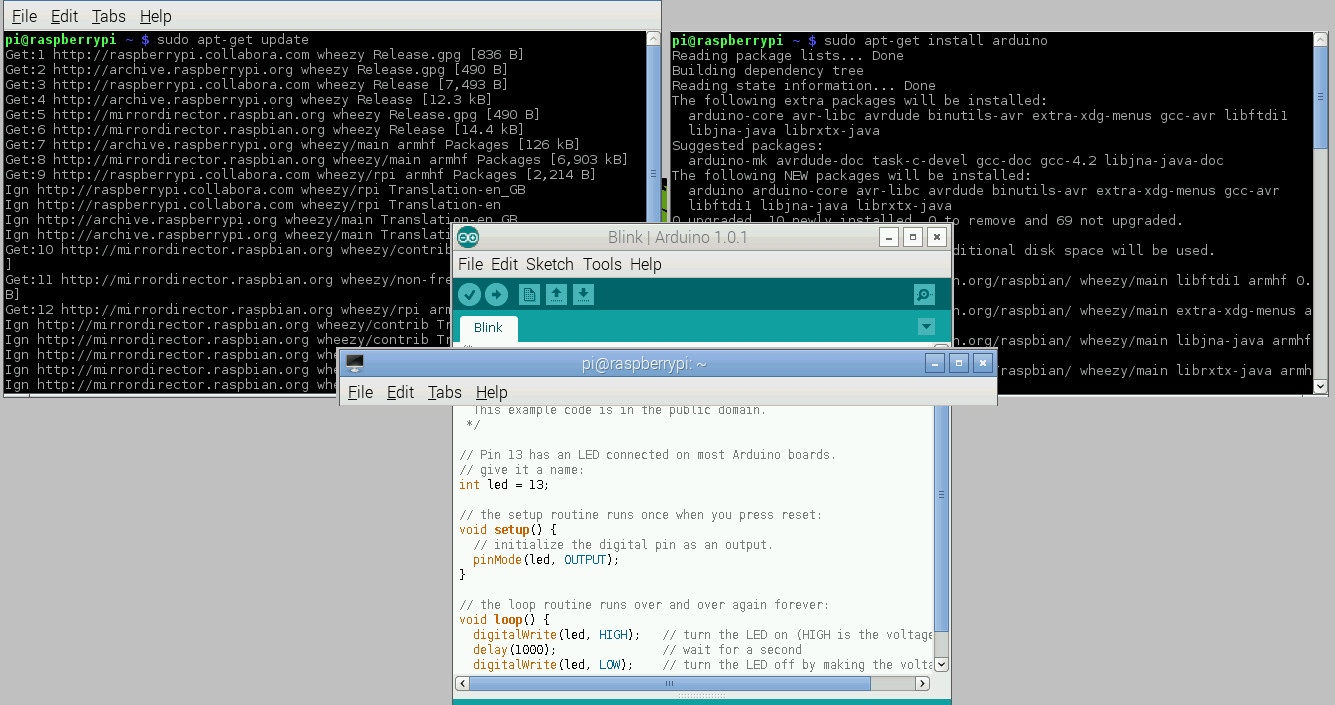 Command Line and Arduino