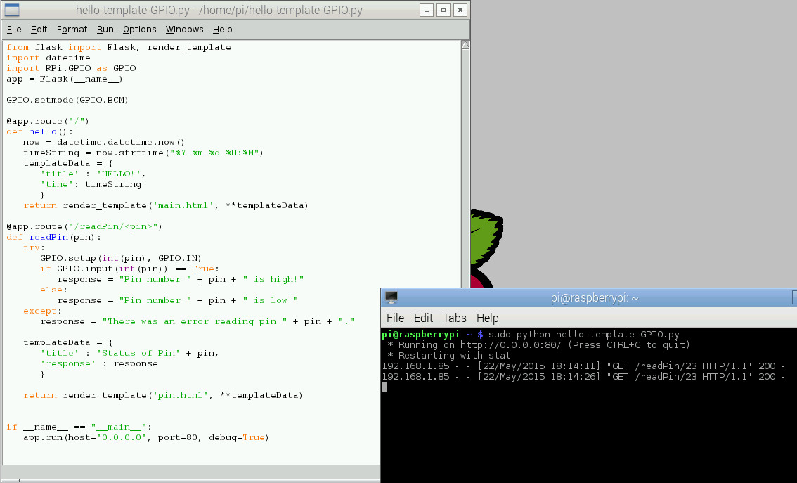 Python Code for Project