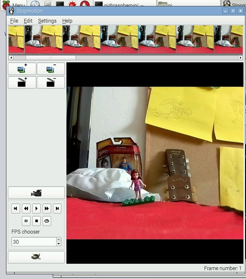 The Doctor Geek/Nerd Blog (not a real doctor): Linux Stopmotion on a