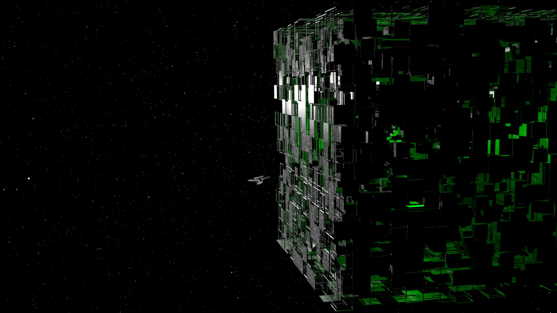 TOS Enterprise Vs The Borg
