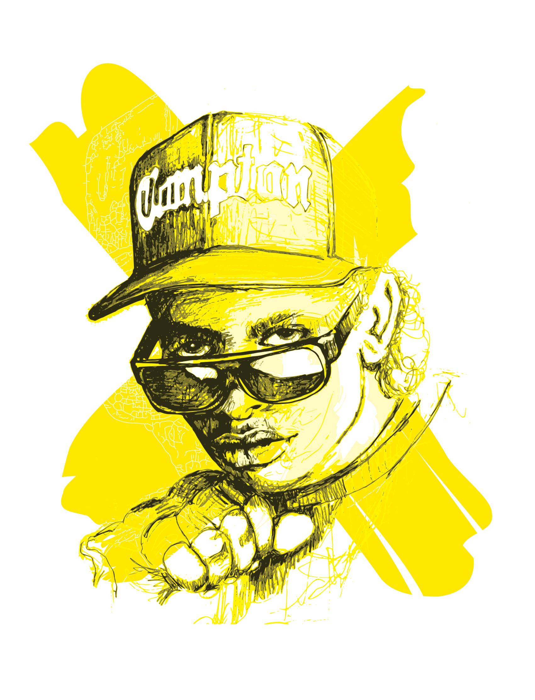 Eazy E - Drawing