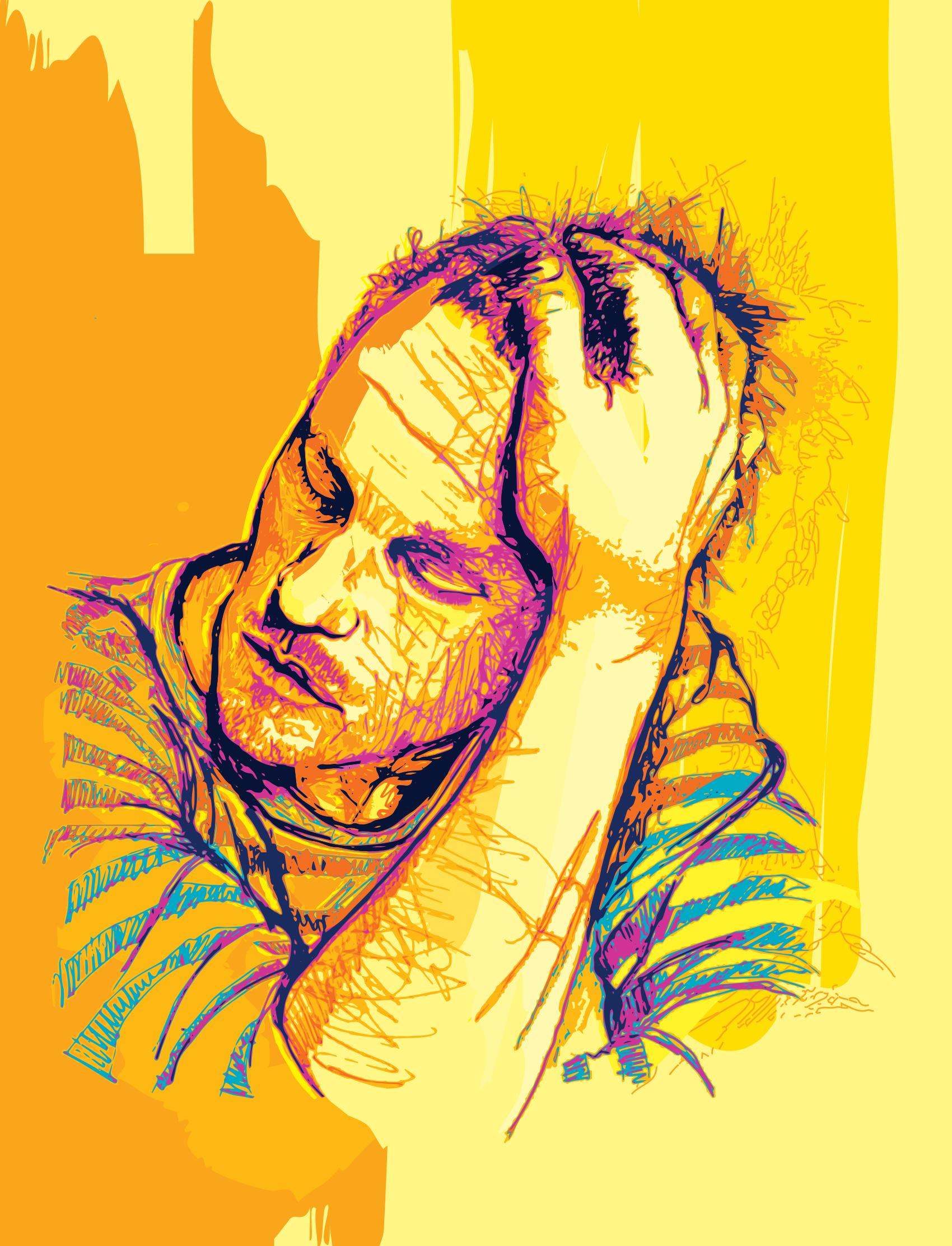 Heath Ledger - Drawing