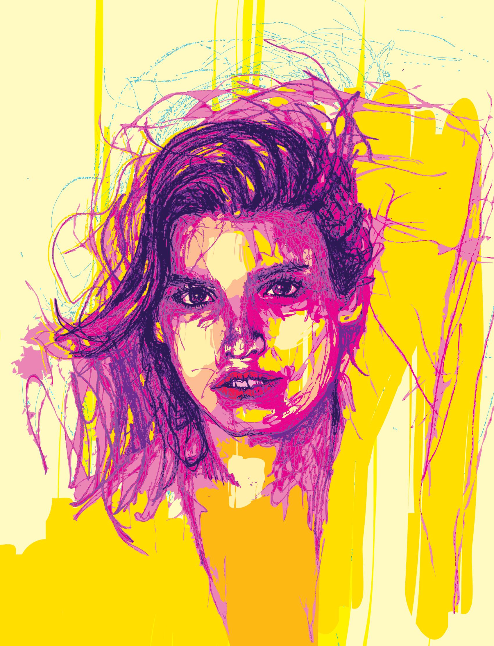 Gia Marie Carangi - Drawing