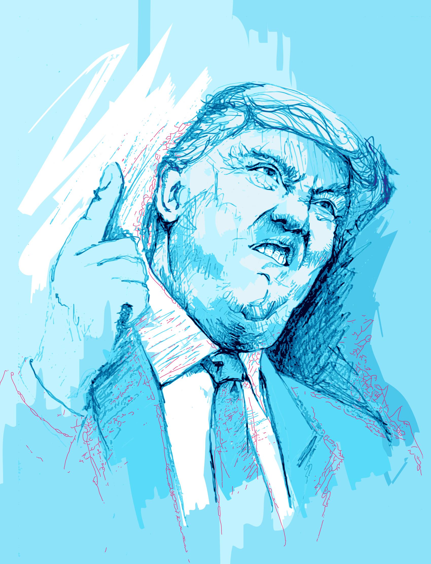 Donald Trump - Drawing