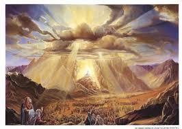 YHWH's Glory on Mt. Sinai