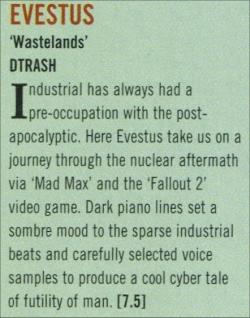 -Review in TERRORIZER magazine