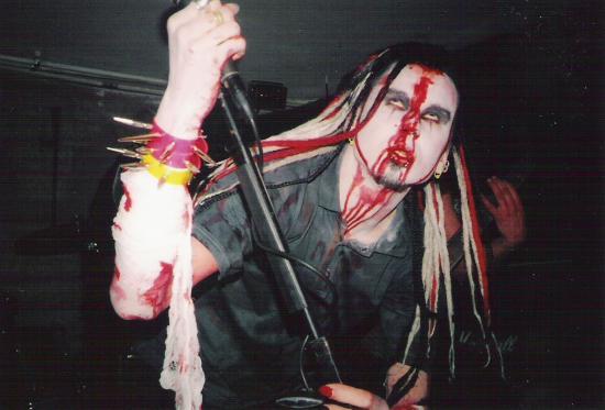 Evestus age 17 performing with Solwaig
