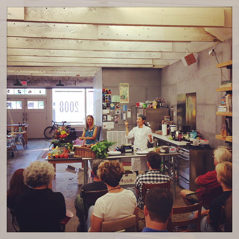 Learning to cook at SHOPCLASS RVA