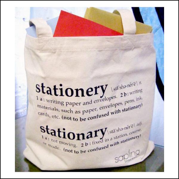 Tote Bag by  The Sapling Press    $15