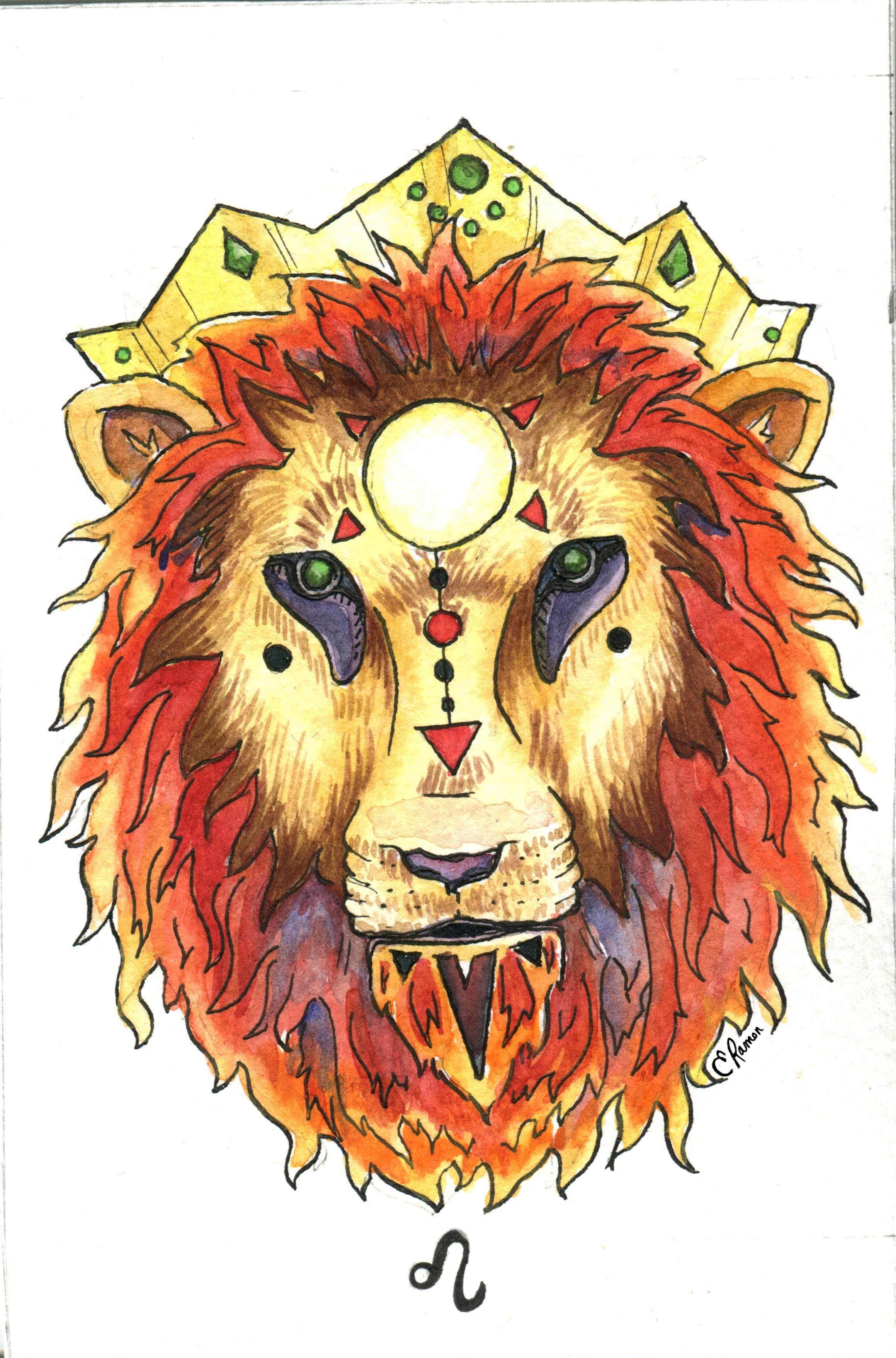 Leo Zodiac-emilyramon-illustration.jpg