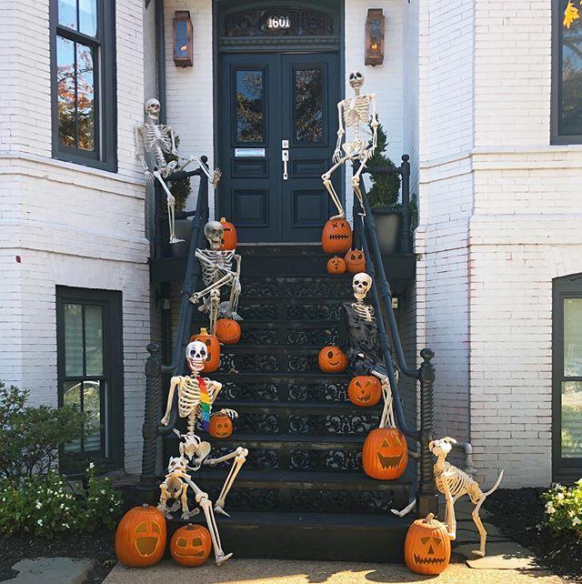 My favorite Halloween house! 🎃💀